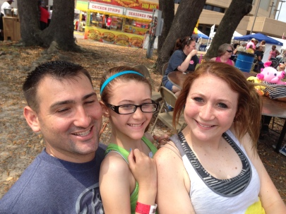 David and (our) nieces Chloe and Emily.  We love them so much!
